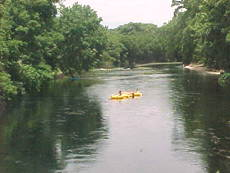 Tubing on the San Marcos River
